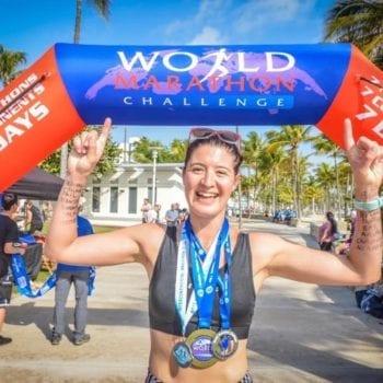 Beck Mitchell - World Marathon Challenge