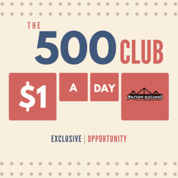 Join our 500 Club
